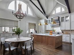 Light fixture for kitchen table in breakfast nook. 30 Stylish Light Fixtures For Your Kitchen Kitchen Lighting Ideas Hgtv