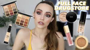 full face using milani makeup easy glam tutorial