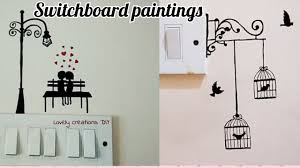 Switchboard Wall Painting Designs 2 Attractive Switch Board Painting Ideas Ll Switch Board Drawings