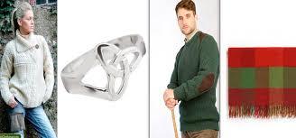 irish gifts for a las aran cardigan the celtic trinity knot ring