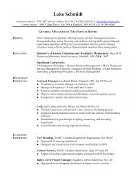 Warehouse Resume Objective Examples Line Cook Resume Objectives Example Armored Car Security Officer 20