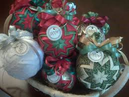 Quilted Ball Ornaments &  Adamdwight.com