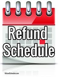Irs Schedule Refund Chart 2018 Irs Refund Schedule 2019 Refund Cycle Chart For 2018 E File