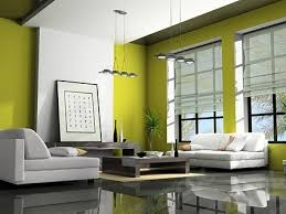 green modern living room picture