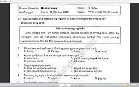 Uji kompetensi wulangan 1 tantri basa kelas 5 hal 17 20 kunci jawaban buku paket bahasa jawa kelas 5 kurikulum 2013 guru. Kunci Jawaban Uji Kompetensi Wulangan 6 Bahasa Jawa Kelas 8 Semester 2 Tahun Ajar