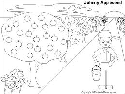 Small Picture Johnny Appleseed Printout ZoomSchoolcom