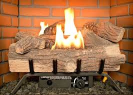vent free gas logs northeastern fireplace design savannah oak 24 in propane with remote ventless smell