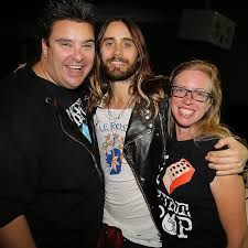 """Rosemary Walton on Twitter: """"Thanks for your time yesterday @JaredLeto. Go  see @30SECONDSTOMARS this weekend (@Higgo74) http://t.co/zAXU4sBK7R"""""""