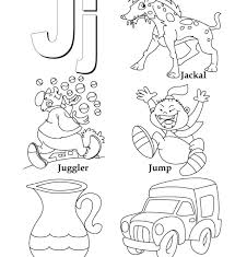 Letter J Coloring Pages Start With The Letter J Colouring Page ...