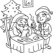 Small Picture SANTA CLAUS coloring pages 53 Xmas online coloring books and