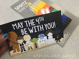 May The Fourth Be With You - Apples and ABC's
