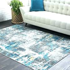 impressive light teal area rug like hand tufted geometric