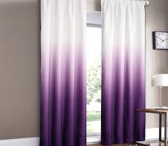 white and purple kitchen curtains