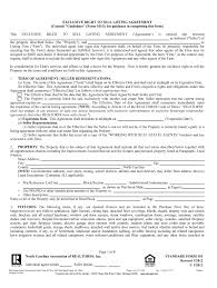As you prepare for your real estate license exam, understand that listing agreements establish the relationship between the real estate agent and the property seller. Maryland Real Estate Contract Fill Out And Sign Printable Pdf Template Signnow