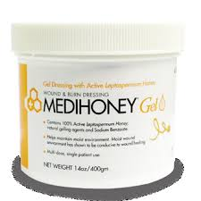 Medihoney Gel Dressing 14 oz tub 1/jar, 6 tubs/case