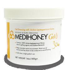 Medihoney Gel Dressing 14 oz tub 1/jar, 6 tubs/case