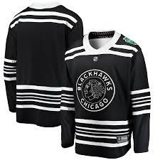 Gray And Jersey Blackhawks Black