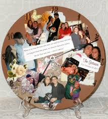 personalized photo collage memory wall clock on personalized photo collage wall art with personalized photo collage memory wall clock lisa s creative