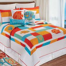 South Seas Colorful Fish Quilt Bedding &  Adamdwight.com