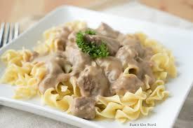 slow cooker beef stroganoff easy