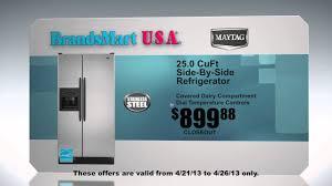 Huge Refrigerator Huge Appliances Spring Sale At Brandsmart Usa Youtube