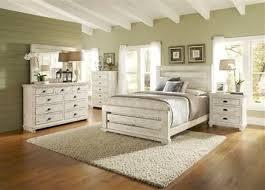 Progressive Furniture Willow Distressed White 2pc Bedroom ...