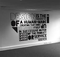 creative office wall art. Office Wall Mural Typography-- Get It Thru InkShufle Murals And Decals Http: Creative Art