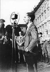 Image result for Goebbels with Hitler
