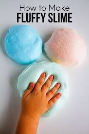 how to make fluffy slime step by step easy instructions to make the best slime