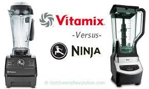 Ninja Blender Comparison Chart Lies Ninja Vs Vitamix Blenders Compared Reviewed