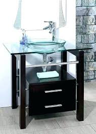 bathroom vessel sink vanity glass bathroom vessel sink vanity pedestal