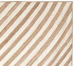 chevron stripe jute rug swatch