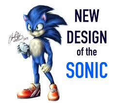 New Design For Sonic Fixing The Sonic The Movie Design