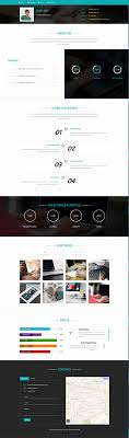 Personal Resume Website Resume Website Template Unique Resume Templates From Graphicriver 68