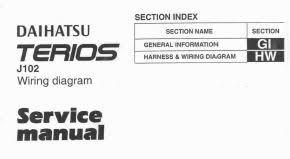 daihatsu repair service manuals daihatsu terios j102 wiring diagram pdf