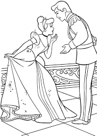 Small Picture Cinderella Fairy Godmother Coloring Pages Coloring Pages
