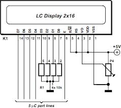 diagram circuit source 2013 simple lcd module in 4 bit mode