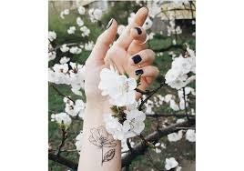 временная татуировка орхидея