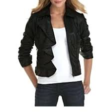 faux leather jacket juniors jolt ruffled faux leather jacket juniors brown faux leather jacket juniors juniors