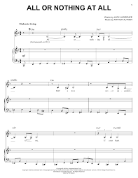 Lights Journey Tab Diana Krall All Or Nothing At All Sheet Music Notes Chords Download Printable Piano Vocal Guitar Right Hand Melody Sku 53172