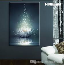 light up wall art led lights canvas spray painting framed artwork