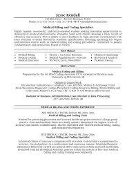 Medical Billing And Coding Job Description Sample And