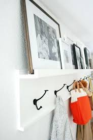 Front Hall Coat Rack Stunning Diy Wall Coat Hooks Photo Ledge With Wall Hooks Front Entryway Coat