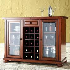 bar cabinet with glass doors sliding top bar cabinet in vintage mahogany finish bar wall cabinet