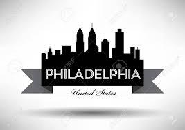 Graphic Design Philadelphia Vector Graphic Design Of Philadelphia City Skyline