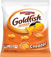 cheddar goldfish snack ers