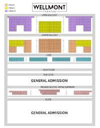 56 Interpretive Golden Gate Theater Seat Map