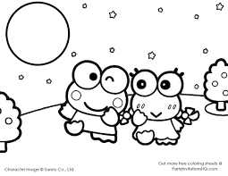 She has a pet hamster named sugar and a white persian named charmmy kitty. Hello Kitty And Keroppi Coloring Pages Hello Kitty And Keroppi Coloring Pages Hello Kitty Coloring Manga Coloring Book Hello Kitty Printables