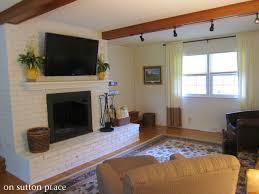 mount flat screen tv brick fireplace mounting a tv over fireplace