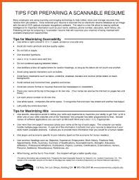 Gallery Of Scannable Resume Template